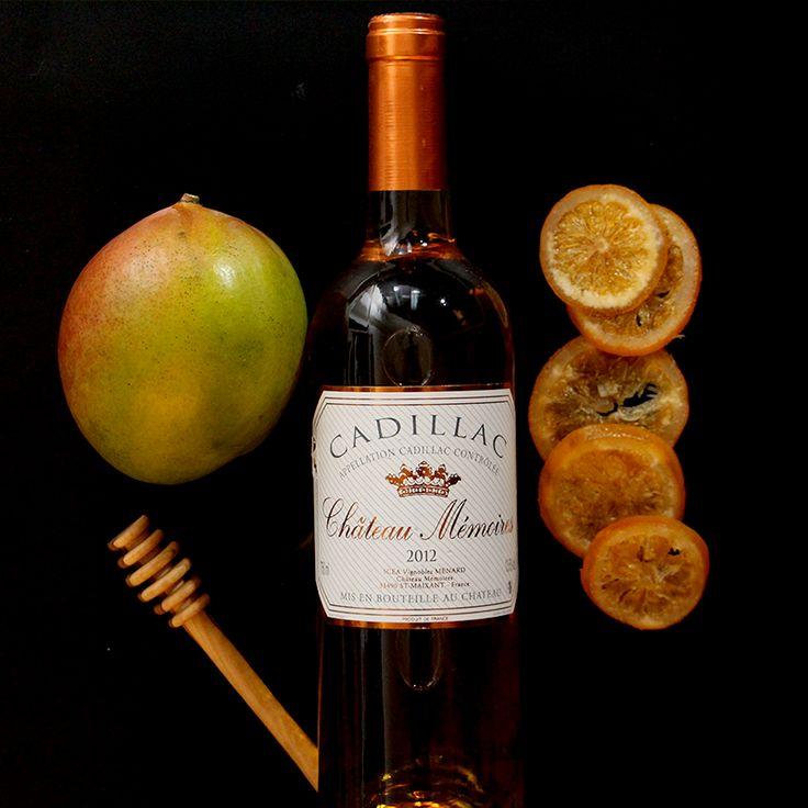 Süßwein aus Bordeaux ist eine besondere Köstlichkeit für die Festtage! Die Weine duften verführerisch nach kandierten Orangen, Honig und Mango. #Bordeaux #Süßwein #Weinaromen