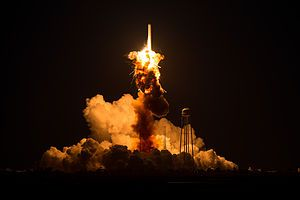 Template:Potd/2015-10 - Wikimedia Commons he Antares rocket, with the Cygnus spacecraft onboard suffers a catastrophic explosion after launch, Tuesday, Oct. 28, 2014, at NASA's Wallops Flight Facility in Virginia.