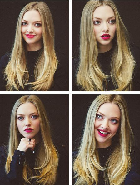 Amanda Seyfried. She is amazing. Wish my hair looked like hers!