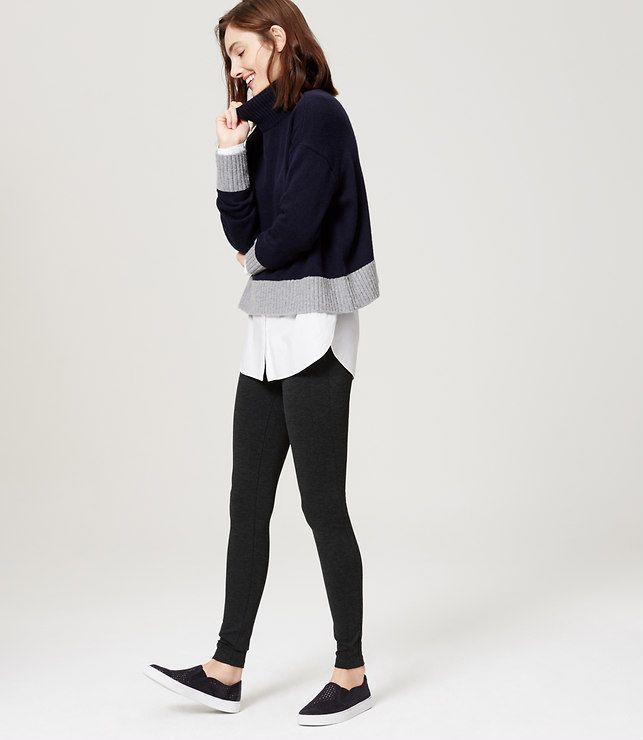 Thumbnail Image of Primary Image of Seamed Ponte Pants