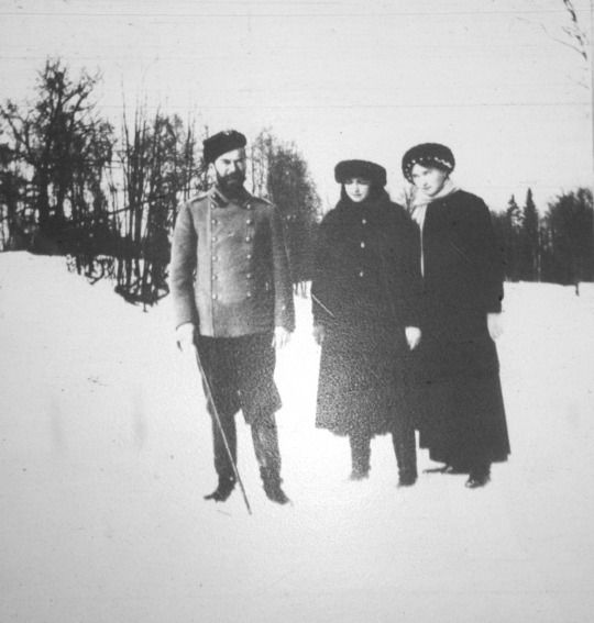 Nicholas, Maria and Olga