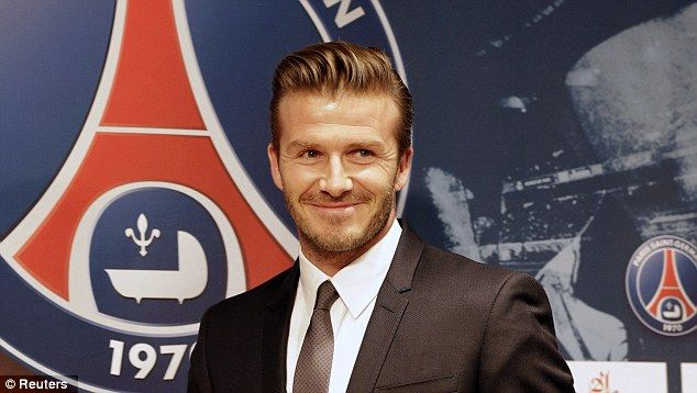 David Beckham donates his entire PSG salary to Paris childrens charity
