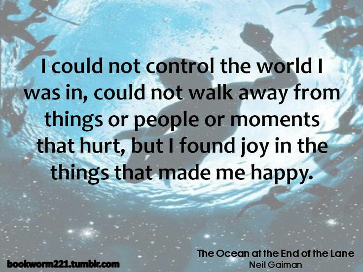 The Ocean At The End Of The Lane By Neil Gaiman: 1000+ Neil Gaiman Quotes On Pinterest