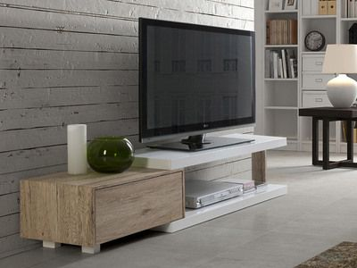42 best u003eu003eu003e Meubles TV u003cu003cu003c images on Pinterest Tv storage, Tv - meuble tv avec rangements