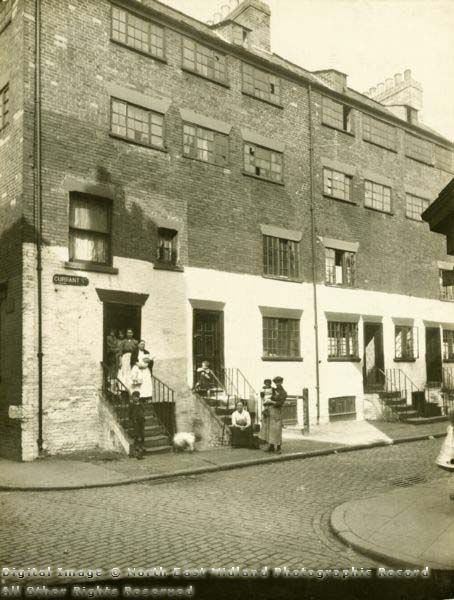 Red Lion Street area, Currant Street 1919