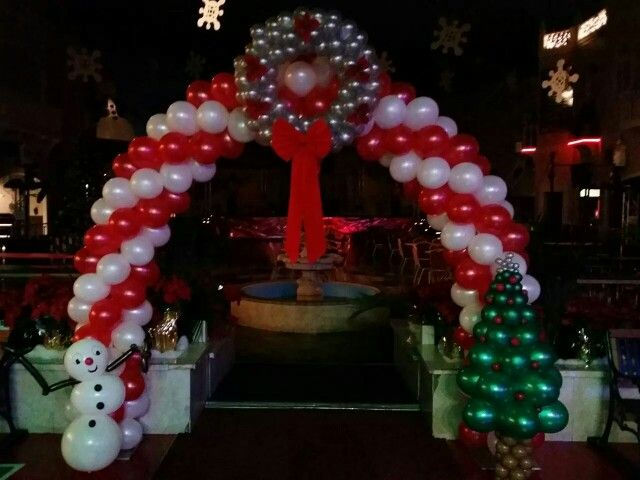 Christmas arch #navidad