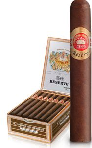 H. Upmann 1844 Reserva. Excellent cigar for the money at about $100/box of 20. Flavorful without a nicotine punch.