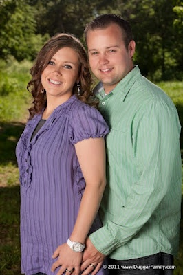 Josh & Anna Duggar...Love!!! :) These colors look good together also. She has great taste for someone that's very conservative...She is still really fashionable.