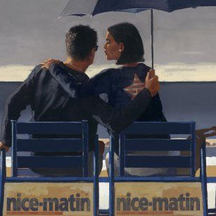 Blue Blue from Jack Vettriano available now from Evergreen Art Cafe