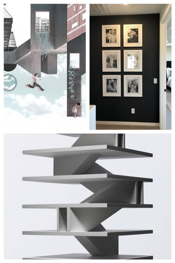 Architectural Collage Stairsarchitecture Collage Stairs Stairsarchitecturecollage Treppe Rchitectural Treppe Ge In 2020 Stairs Architecture Stairs Concrete Wall