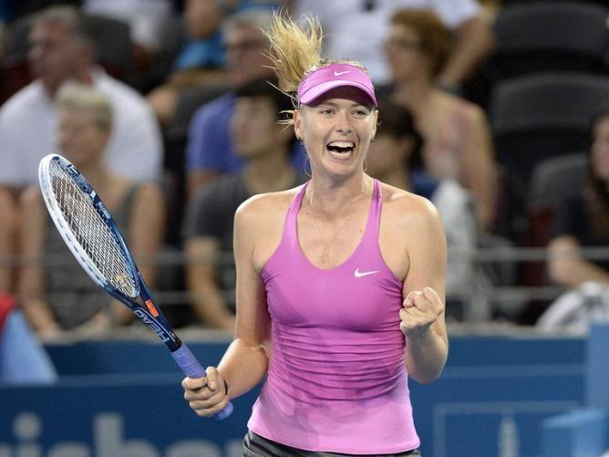 TITLE NO. 44!! Maria Sharapova Overcomes Ana Ivanovic to win Brisbane International