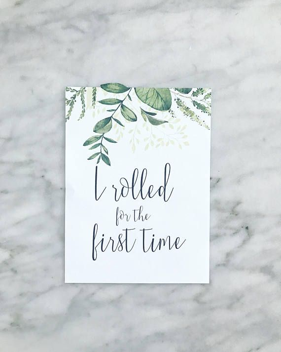 Printable Baby Milestone Cards Set of 38 Wreath Greenery