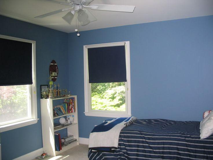 Trevoru0027s Room   Ben Moore Old Blue Jeans · Boys Bedroom PaintBedroom Paint  ColorsBoy ...
