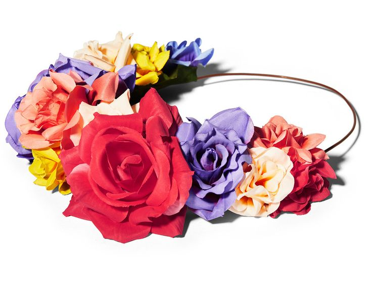Diadema de flores (12,99 €).