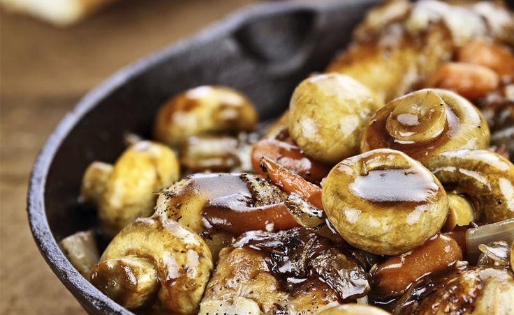 38 receitas com cogumelos variados para você preparar                                                                                                                                                                                 Mais