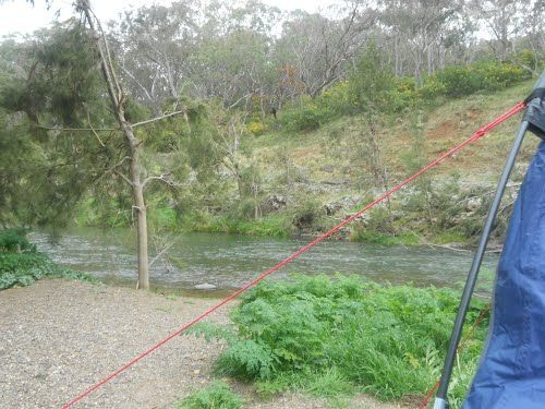 Camping at First Crossing - NSW on the Turon River