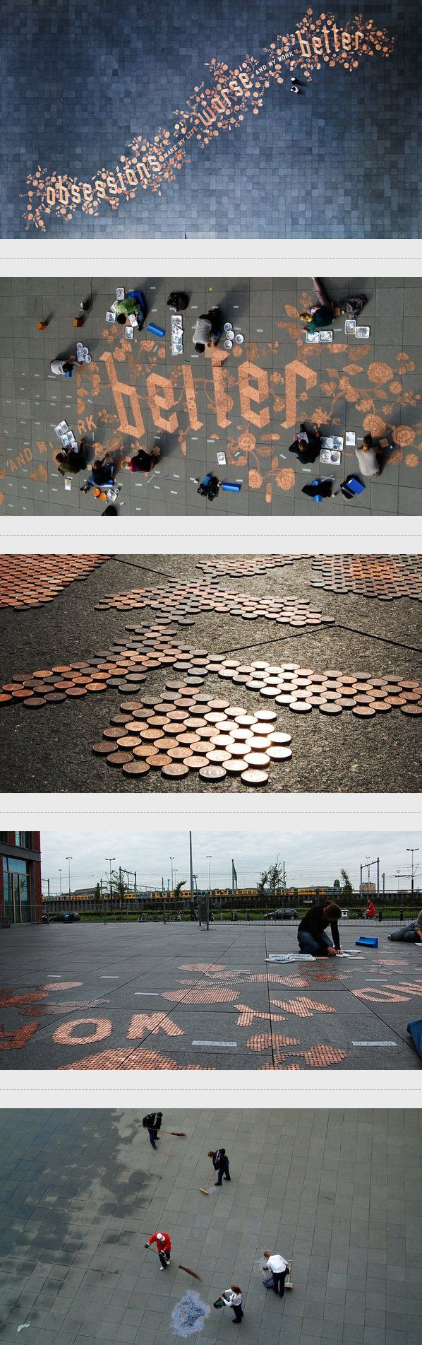 Obsessions Make My Life Worse and My Work Better by Sagmeister & Walsh, via Behance