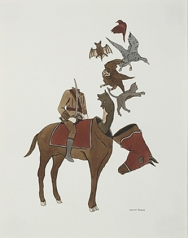 Marcel Dzama, The Ghost Riders