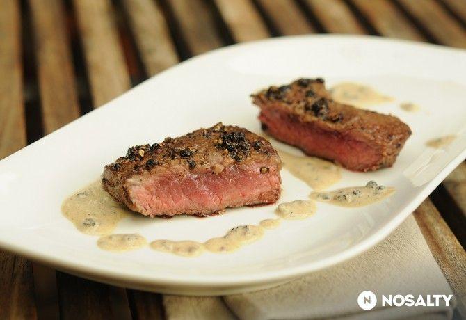 Steak borskéregben
