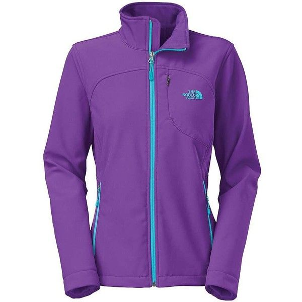 The North Face Women's Apex Bionic Jacket ($149) ❤ liked on Polyvore featuring activewear, activewear jackets, hero purple, women activewear, columbia sportswear and the north face