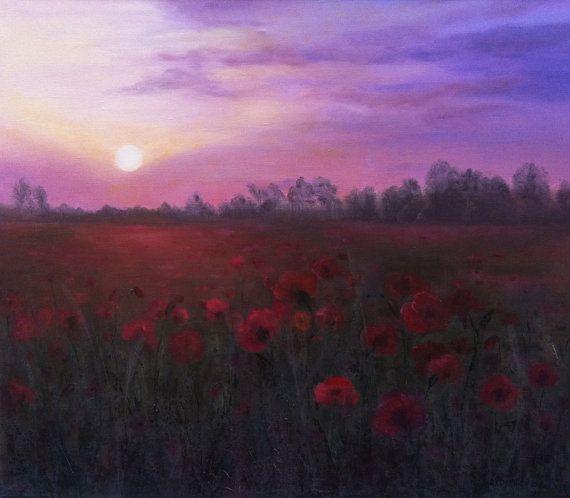 Blooming poppies by kokorevicaieva