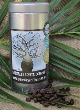 Organic, rainforest alliance and fair trade coffee at the Broome Courthouse Markets // Kimberley Coffee Company