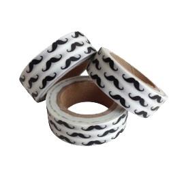 Masking tape snorretjes