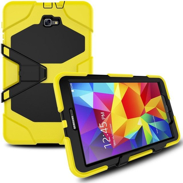Tablet Cases For Samsung Galaxy Tab A 10.1 T580 T585 Case Armor Kickstand Hard Case for Samsung Galaxy Tab A 10.1 2016 Cover