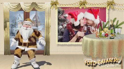 Unusual Santa Claus - Project for Proshow Producer