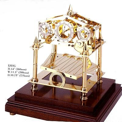 The Congreve Rolling Ball Clock