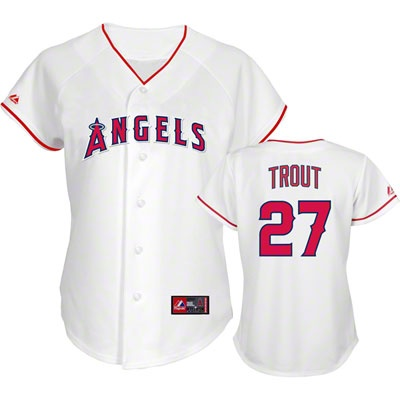 new concept e7311 f01cd 27 mike trout jersey river