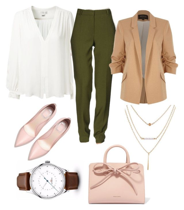 """""""Untitled #52"""" by ssimuhina on Polyvore featuring Erin Fetherston, Alberta Ferretti, River Island and Mansur Gavriel"""