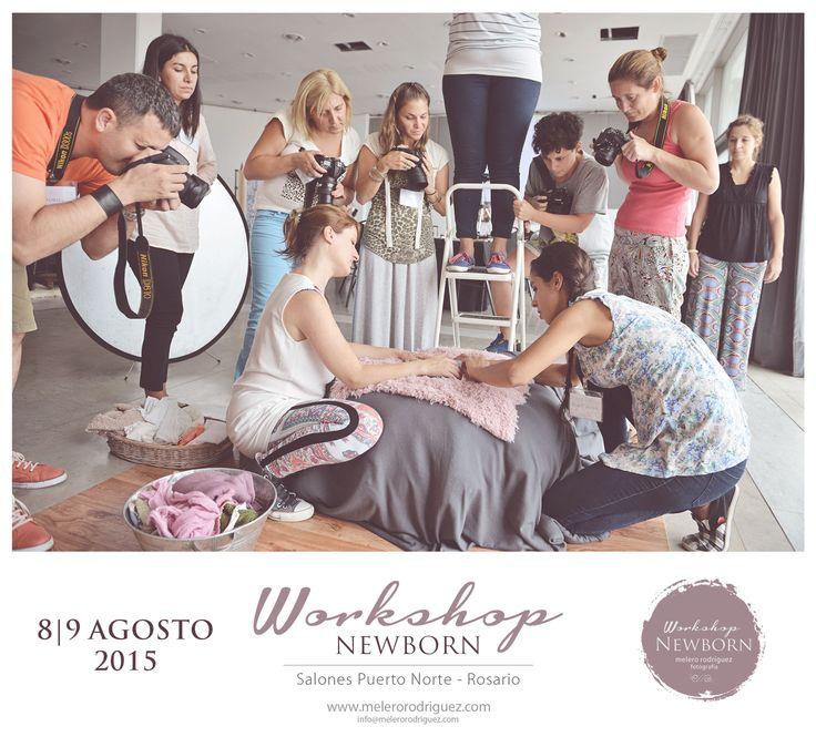 Nuevo Workshop de fotografía NEWBORN melero rodriguez 2015 Puerto Norte - Rosario, 8 y 9 de Agosto. Prácticas con bebés de 5 a 20 días.Todos los secretos para que logres las mejores posturas. Cómo coordinar elementos, colores y qué texturas utilizar.  Tienda NEWBORN: En nuestro Workshop encontrás todo lo necesario para armar tu estudio! (vestuarios, gorros, mantas, pisos, accesorios, contenedores, backdrop, etc)  Además te sorprendemos con regalos exclusivos!