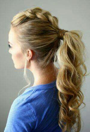 French braid pony