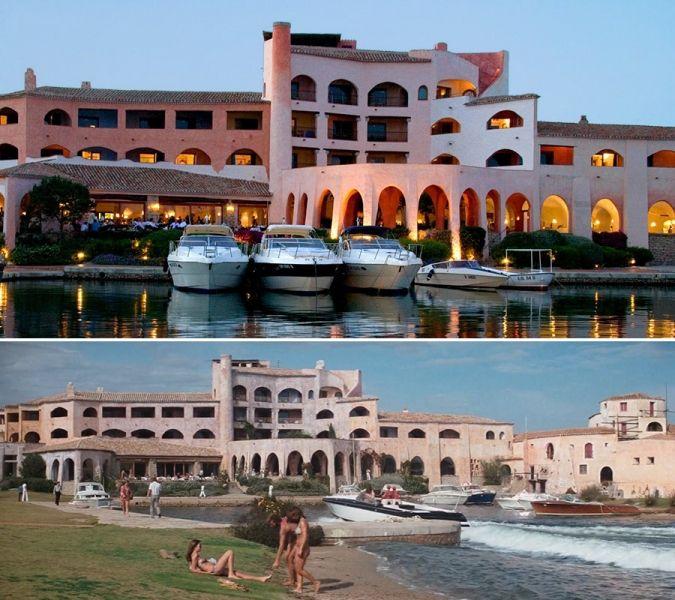 Hotel Cala Di Volpe, in the luxurious resort of Costa Smeralda.