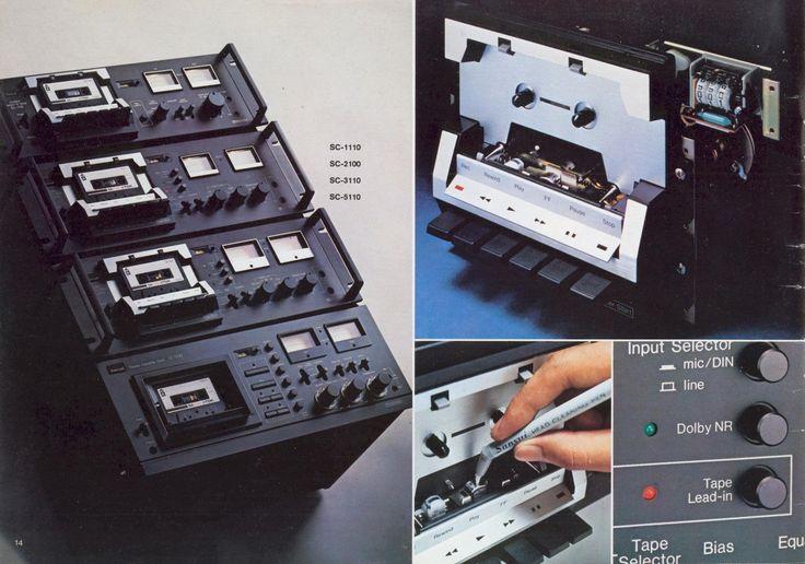1978 Sansui Tape Decks