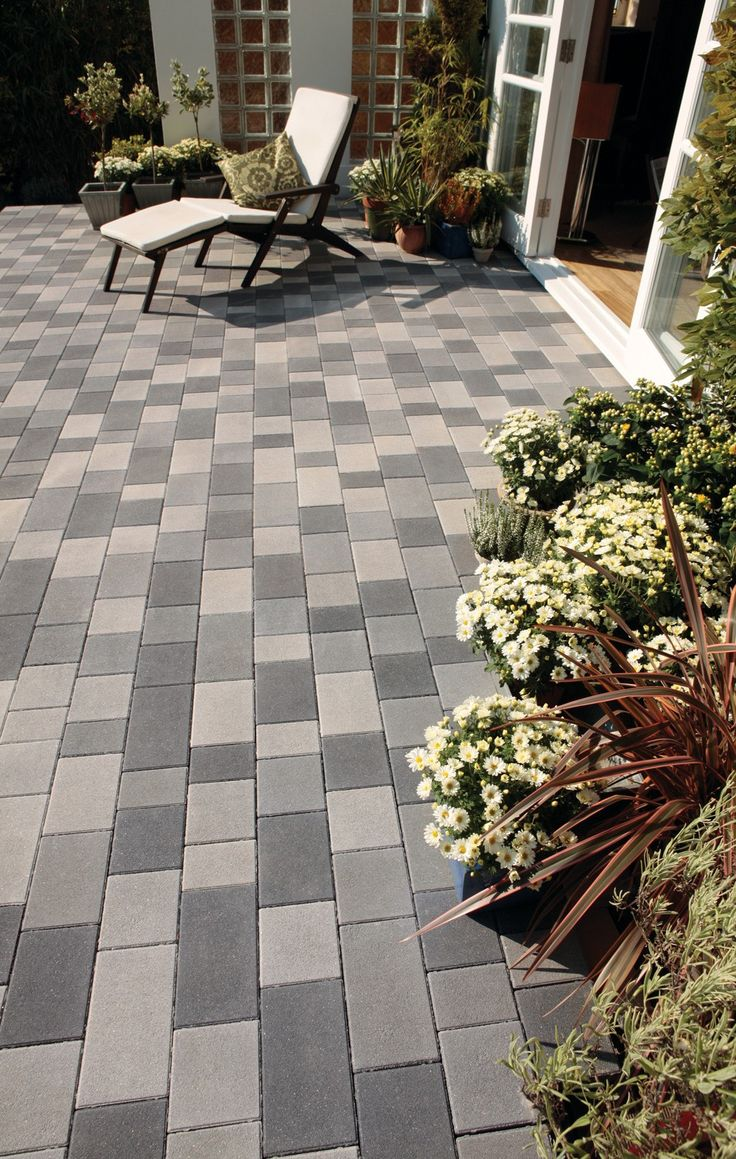 Bradstone - Block Paving - StoneMaster - Granite Grey Look - Mixed Sizes Packs