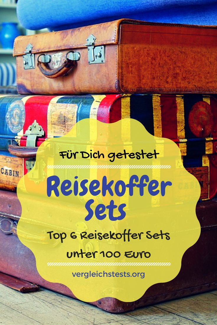 #Reisen #Testbericht #Vergleichstest #Reisegepäck #Kofferset #Koffer #Hartschale