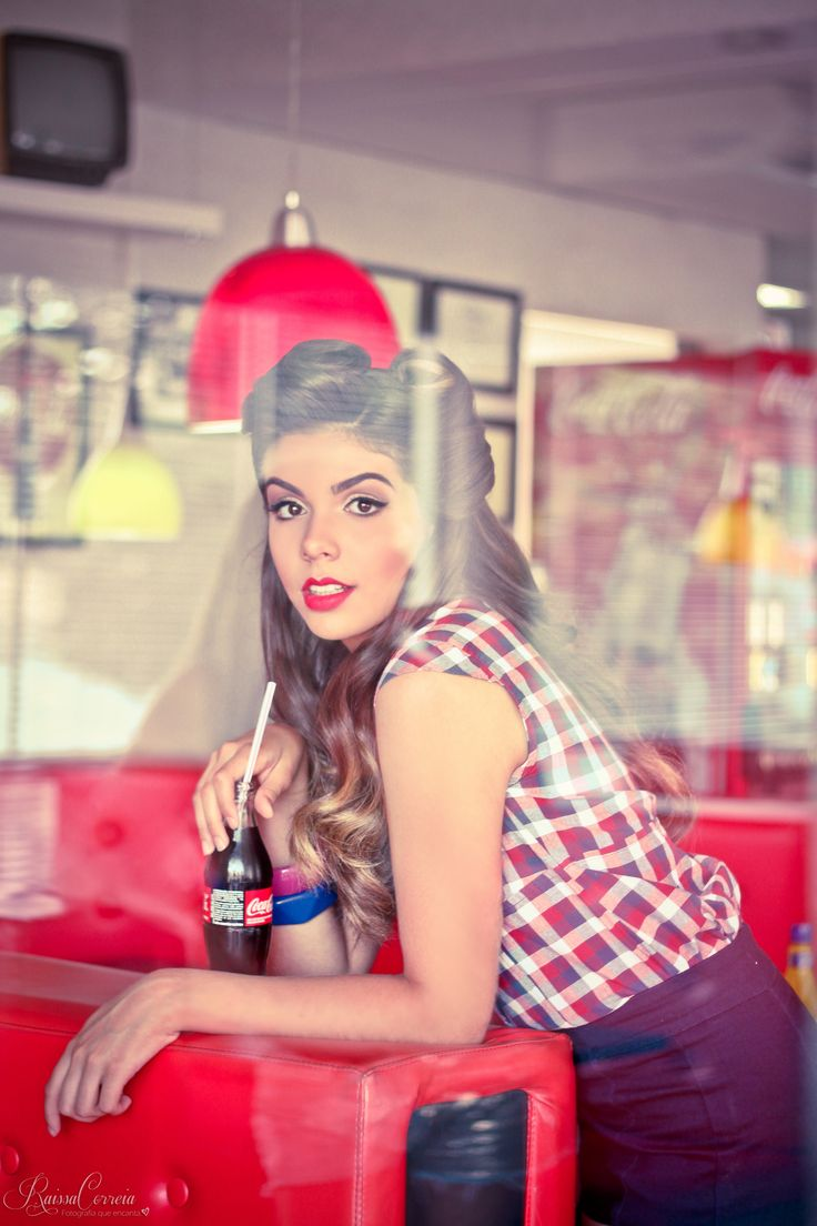 Ensaio sensual pin up