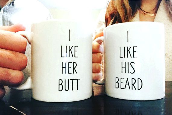 @flaree this reminded me of you and Mike, I think it's the beard.                                                                                                                                                                                 More