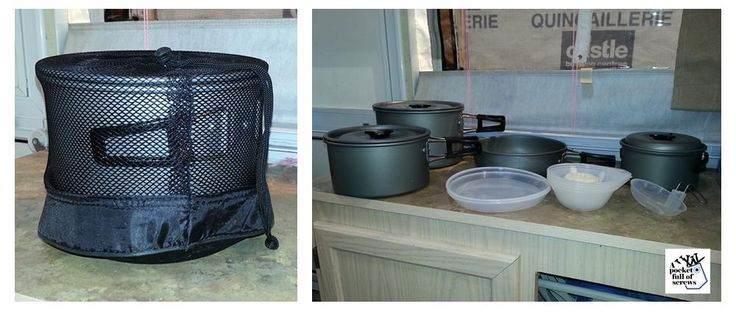 15 in 1 pots for camping