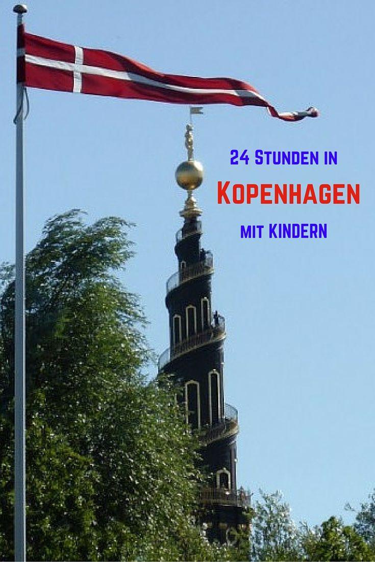 Mit Kindern in Kopenhagen: Was in 24 Stunden alles geht. #Kopenhagen #Copenhagen #Denmark #Dänemark #citytrip #Städtetrip #reisenmitkindern #familytravel