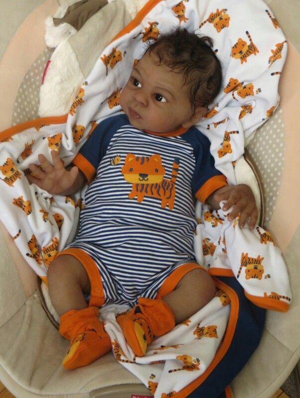 Full Silicone Baby Alejandro By Laura Tuzio Ross