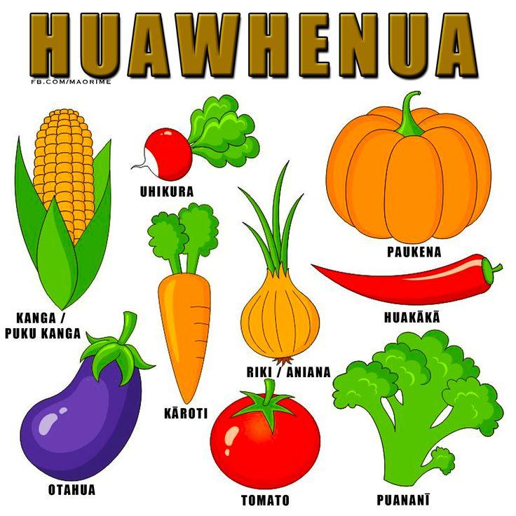 Hua Whenua : Vegetables