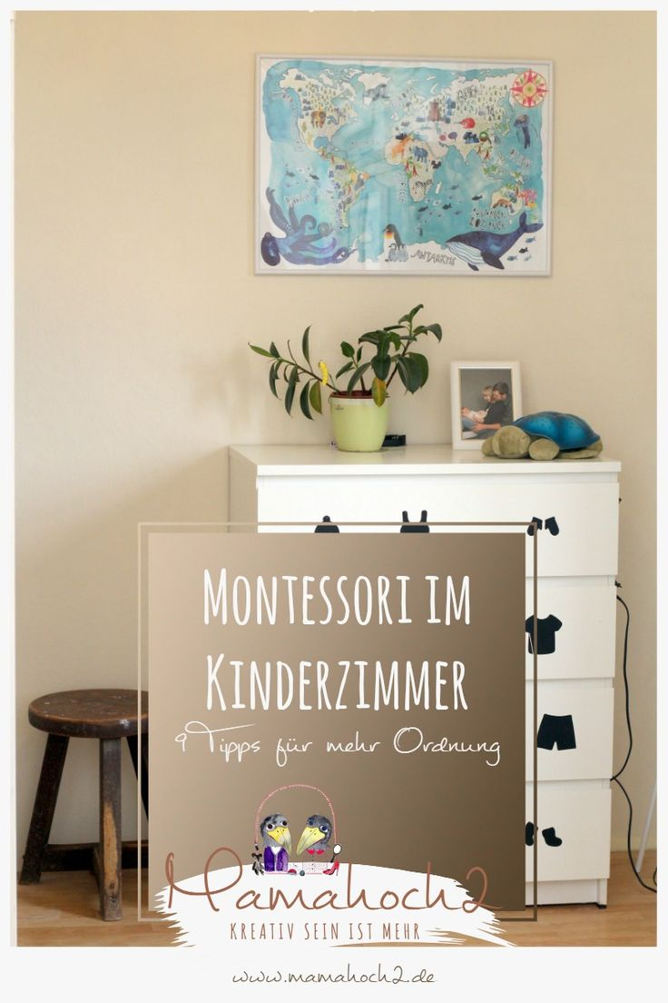 9 tips for a bit of Montessori in the nursery