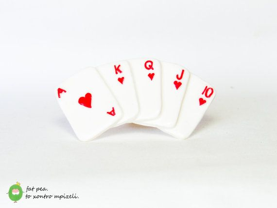 Royal Flush Poker Cards - Ring