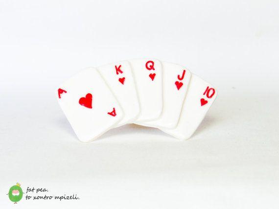 Royal Flush Poker Cards - Ring