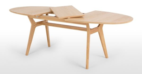 Made Light Wood Dining Table In 2020 Oak Dining Table Dining