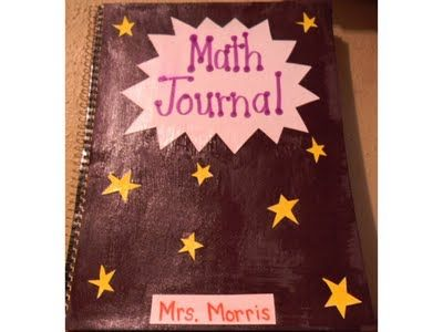 an amazing math journal with a lot of pictures of foldables inside the journal