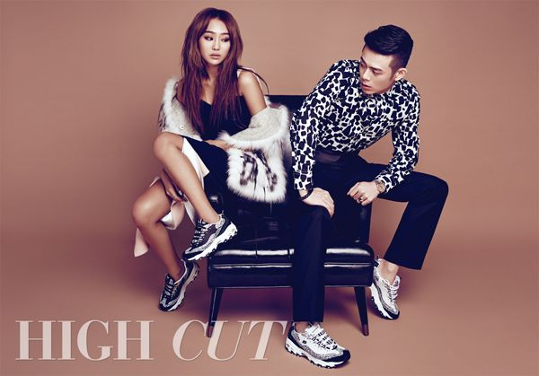 Sistar Hyorin and Beenzino